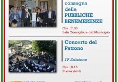 San Lorenzo in Campo festeggia il patrono: pubbliche benemerenze e concerto