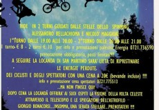 Spinning sotto le stelle