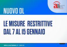 Coronavirus, aggiornamento norme – Decreto Legge 5 gennaio 2021