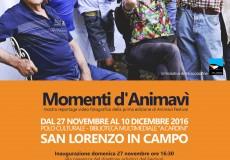 Al Polo culturale la mostra Momenti d'Animavì
