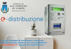 Al via campagna gratuita di installazione degli Open Meter, nuova generazione di contatori elettronici di E-Distribuzione