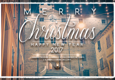 Gli auguri per un sereno Natale e un felice 2017 del Sindaco e dell'Amministrazione comunale