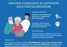 Nuovi servizi offerti dall'Ambito Sociale 6 con i Comuni: prenotazione vaccini e attivazione Spid