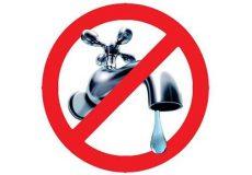 Ordinanza di divieto di utilizzo dell'acqua proveniente dal pubblico acquedotto per consumo umano in alcune zone del territorio comunale