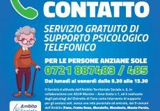 Emergenza Coronavirus, supporto psicologico per persone anziane sole