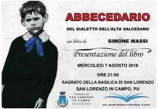 ABBECEDARIO del Dialetto dell'Alta Valcesano_Incontro con Simone Massi