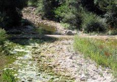 Crisi idrica, decreto Regione: sospensione prelievi