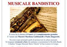 Nel Paese della Musica il Corso d'Orientamento Musicale Bandistico