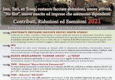 'ValorizziAMO i centri storici, sosteniAMO l'economia locale': contributi, riduzioni, esenzioni 2021
