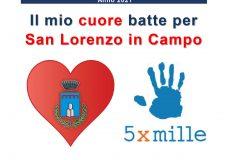 Il mio cuore batte per San Lorenzo in Campo: campagna di sensibilizzazione 5 per 1000