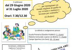 Campi solari 2020: programma, obiettivi, modalità, domanda