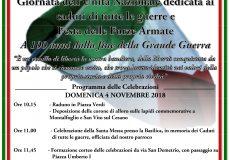 Giornata dell'Unità Nazionale dedicata ai caduti di tutte le guerre eFesta delle Forze Armate