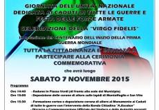 Giornata dell'Unità Nazionale, Festa delle Forze Armate e celebrazione della Virgo Fidelis