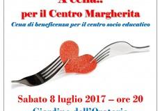 A cena… per il Centro Margherita