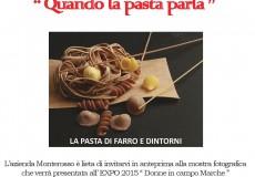 """Monterosso, mostra fotografica """"Quando la pasta parla"""""""