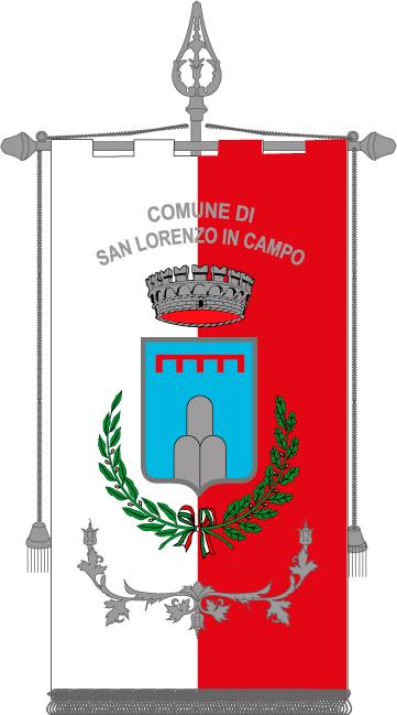 Gonfalone Comunale di San Lorenzo in Campo