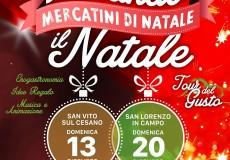 Gustando il Natale, mercatini di Natale a San Vito e San Lorenzo in Campo