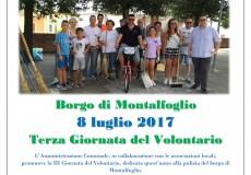 Giornata del Volontario, PuliAMO insieme Montalfoglio