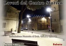 Inaugurazione dei lavori del centro storico