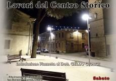 Inaugurazione lavori centro storico