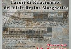 Inaugurazione lavori di rifacimento di viale Regina Margherita