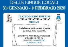 A teatro la Giornata del Dialetto e delle lingue locali