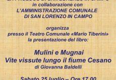 Presentazione del libro Mulini e Mugnai – Vite vissute lungo il fiume Cesano