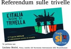 Referendum sulle trivelle, incontro a San Lorenzo in Campo