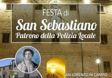 San Lorenzo in Campo ospita la Festa di San Sebastiano, patrono della Polizia locale