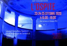 Al teatro Tiberini e al Museo la mostra d'arte contemporanea L'Ospite