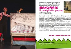 Andar per fiabe: a teatro Branciforte, il coniglietto pop-up
