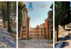 Emergenza Coronavirus, accesso regolamentato ai 3 cimiteri comunali per personale delle ditte florovivaistiche