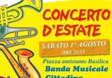 "Concerto d'Estate con la banda musicale ""A. Escobar"""