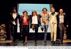 Festa della donna a teatro brindando con il San Costanzo Show
