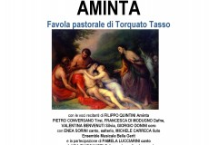 Aminta, concerto-spettacolo al teatro Tiberini