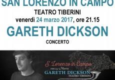 TeatrOltre: Gareth Dickson in concerto