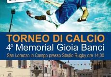 "Memorial ""Gioia Banci"""