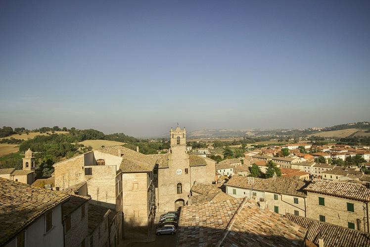 Panorama da Palazzo Amatori