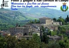 """Ponte del 2 giugno a San Lorenzo in Campo:  motoraduno a San Vito, teatro e """"slow"""" tour tra borghi, arte, enogastronomia"""
