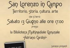 """Nella nuova biblioteca la presentazione del libro """"San Lorenzo in Campo"""""""