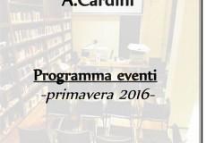 Polo culturale Biblioteca multimediale – Programma eventi primavera