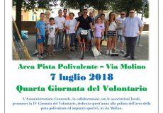 PuliAmo insieme San Lorenzo, quarta Giornata del Volontario