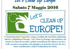 Ripuliamo l'Europa – Let's Clean Up Europe