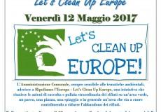 L'Amministrazione comunale aderisce a Let's Clean Up Europe. Pulizia dei parchi con i ragazzi delle scuole