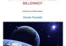 """""""La visione cosmica: un paradigma per il terzo millennio?"""": incontro con il fisico Davide Fiscaletti"""