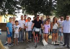 Amministratori e cittadini puliscono San Lorenzo in Campo
