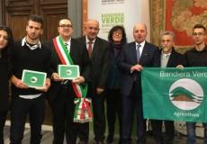 A San Lorenzo in Campo sventola la Bandiera Verde