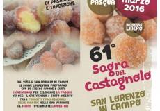 Una Pasquetta gustosa a San Lorenzo in Campo con la Sagra del Castagnolo
