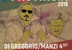 Jazz 'in provincia, a teatro Di Gregorio / Manzi Quartetto