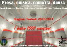 Dalla prosa al jazz, dal San Costanzo Show a prestigiose collaborazioni: stagione teatrale super a San Lorenzo in Campo